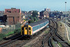16th Aug 1989:  421727 (4 CIG) departs from Littlehampton