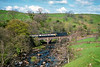 13th May1989:   the 08.25 from Leeds to Glasgow at Helwith Bridge.