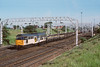 19th Jun 89:  Having failed 31312 is dragged back into the yard by a pair of 20's