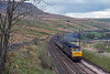 13th May 1989:  Nearing the top of the climb to Ais Gill is 47417 working a Glasgow to Leeds service.  I was there to picture LNER V2 4771 'Green Arrow which was truly spectacular