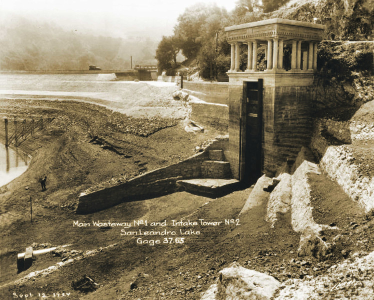 Then: Lake Chabot reservoir was build in 1874075 as a primary drinking water source for the east bay. It was named after engineer Anthony Chabot. The park opened to the public in 1966 through an agreement with EBMUD. Photo: EBMUD