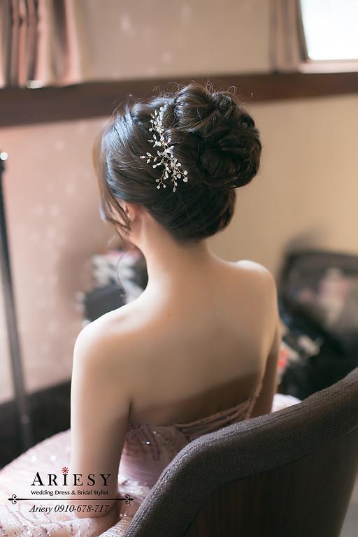 文定新秘,文定新娘造型,台北花園婚宴,新娘秘書,新秘推薦,台北新秘ARIESY
