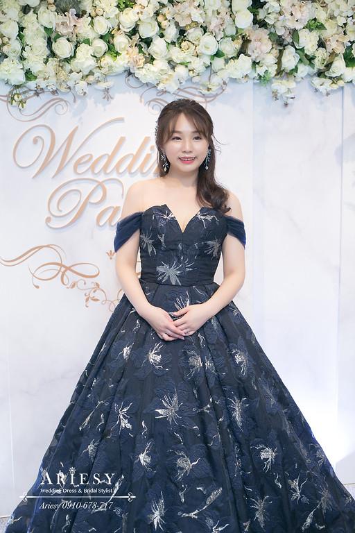 送客新娘造型,新娘髮型,台北花園婚宴,新娘秘書,新秘推薦,台北新秘ARIESY