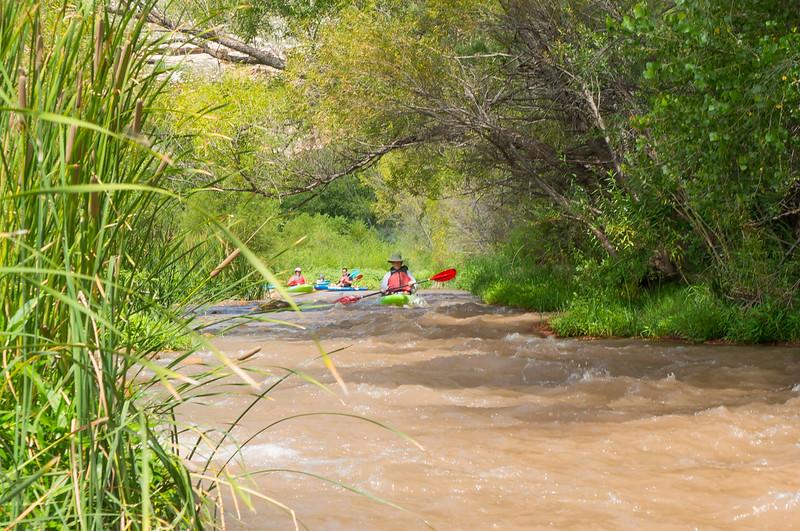 Verde River Institute Float Trip, Tapco to Tuzi, 8/12/17