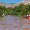 Verde River Institute Float Trip, Tapco to Tuzi, 8/16/17