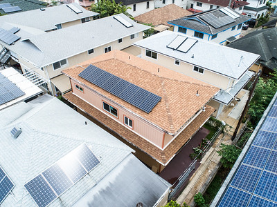 Andy Hawes Real Estate Photography 824-B Lopez Ln Drone Panels SouthWest Corner