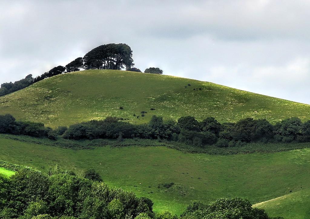 A look back towards Gerrard's Hill