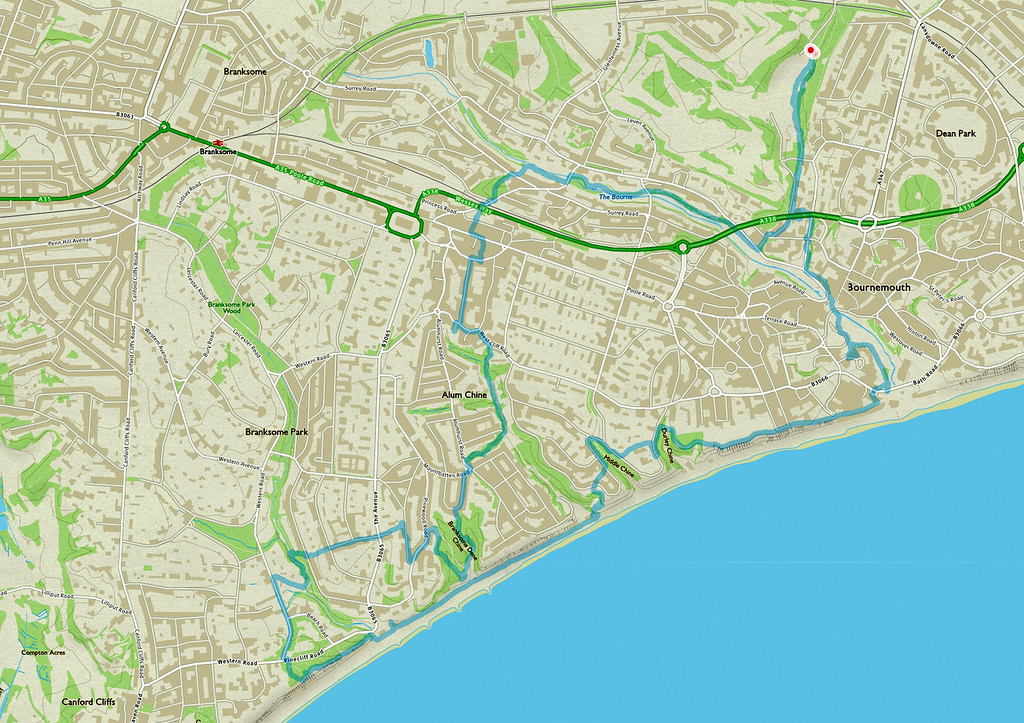 The route we took, going anticlockwise