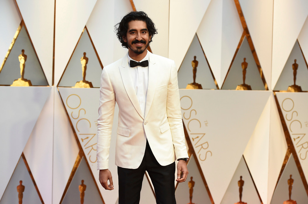 . Dev Patel arrives at the Oscars on Sunday, Feb. 26, 2017, at the Dolby Theatre in Los Angeles. (Photo by Jordan Strauss/Invision/AP)