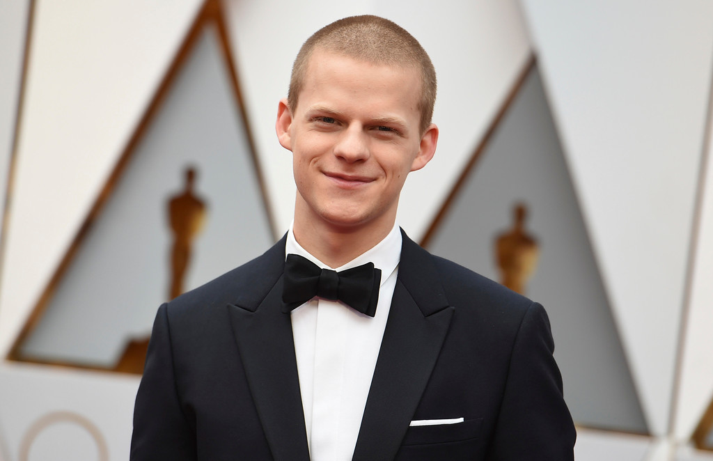 . Lucas Hedges arrives at the Oscars on Sunday, Feb. 26, 2017, at the Dolby Theatre in Los Angeles. (Photo by Richard Shotwell/Invision/AP)
