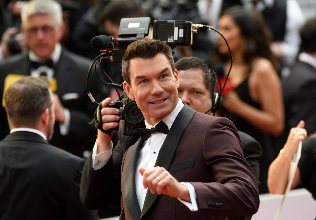 . Jerry O\'Connell arrives at the Oscars on Sunday, Feb. 26, 2017, at the Dolby Theatre in Los Angeles. (Photo by Al Powers/Invision/AP)