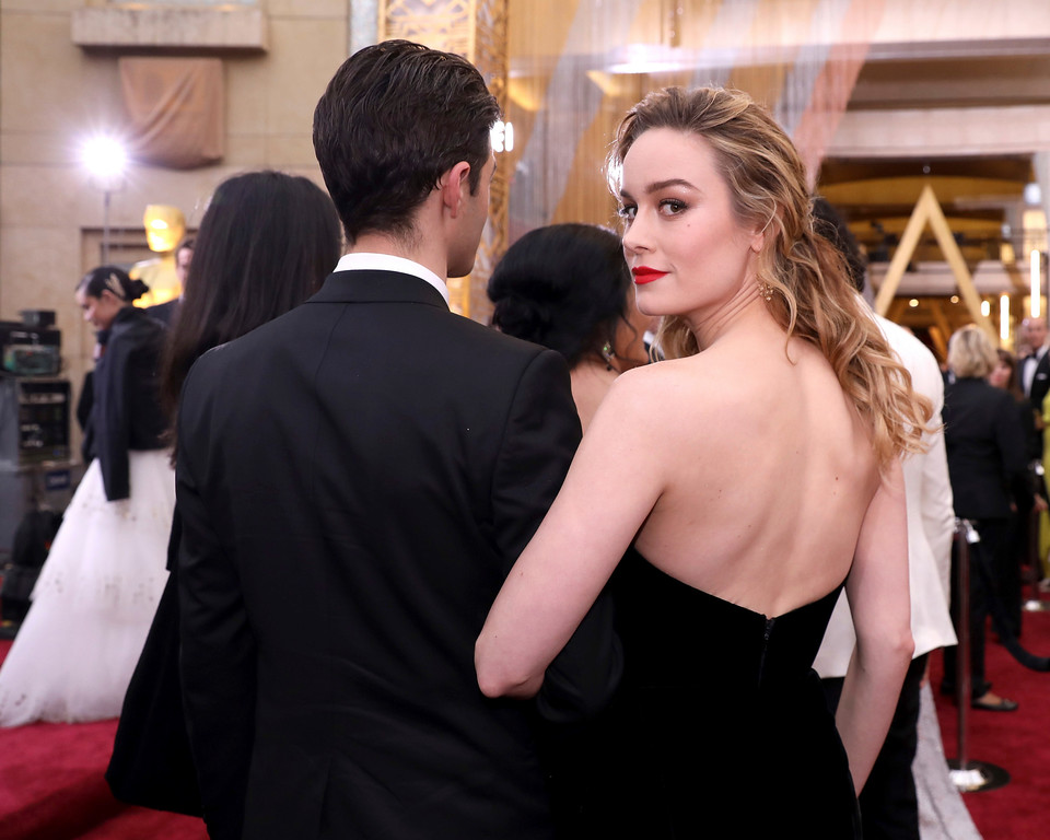 . Brie Larson arrives at the Oscars on Sunday, Feb. 26, 2017, at the Dolby Theatre in Los Angeles. (Photo by Matt Sayles/Invision/AP)