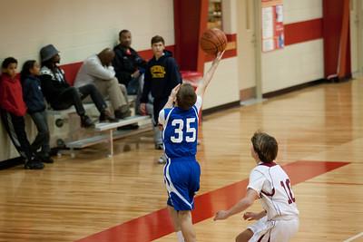 8B Basketball 1/14/2013