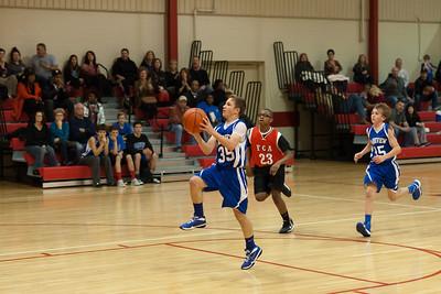8B Basketball 1/17/2013