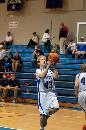 8B Basketball 1/28/13