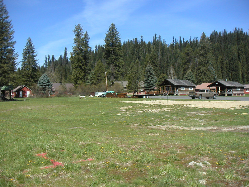 Colt Kill campsite.  This site is behind the forest ranger living quarters on the south side of Hwy 12.