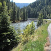 At the bottom of the Lolo Trail today is Hwy 12 and the Lochea and Clearwater Rivers.