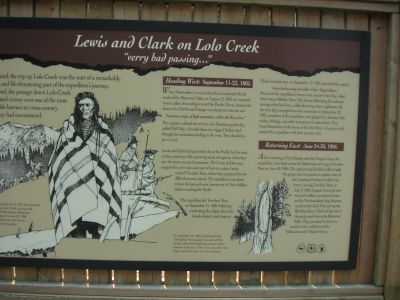 Lolo Trail sign