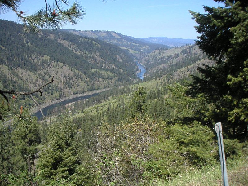 Clearwater River valley.