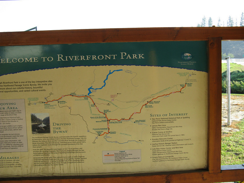 Clearwater River map.