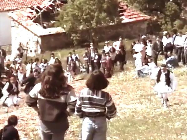 """Αφιέρωμα στό φίλο μου """"Γέρο-Μήταλα""""<br /> Στο Πανηγυράκι της Αράχωβας 2 Μαίου 1993."""