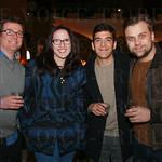 Theo Walcott, Cameron Wyle, Josh Hunley and Igor Guryashkin.