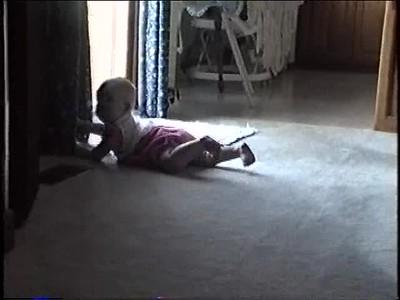 Mariah Crawling @ 5 months