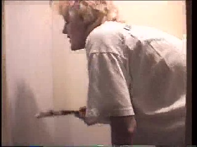 DJ Helping Paint Closet - Aug'97
