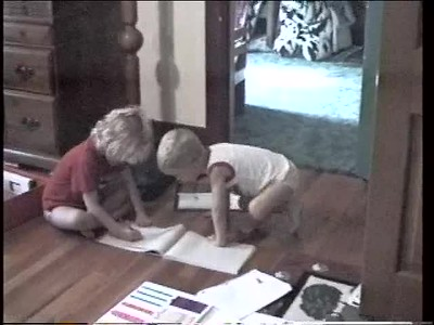 Kids Playing School - Aug'97