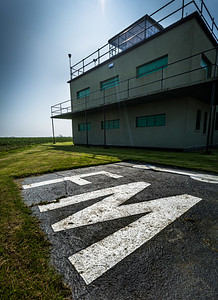 Preserved Control Tower at Parham