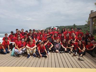 8th Grade Semana de Puerto Rico Field Trip from Quebradillas to Rincón