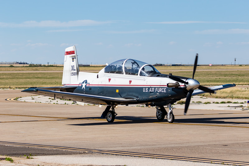 "-(Aircraft) Beechcraft T-6A Texan II<br /> -(Nation & Service) United States Air Force<br /> -(Squadron) 434th Flying Training Squadron ""Red Devils"" <br /> -(Home Base) Laughlin Air Force Base, Texas"