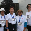 The 5K Run, Walk and Roll is a family affair! From the left: Miriam Aponte, Rosa Aponte, Lydia Davila, and Glenda Moreno pose for a photo.
