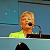 Current churchwide executive board president opens the first plenary session of the convention.
