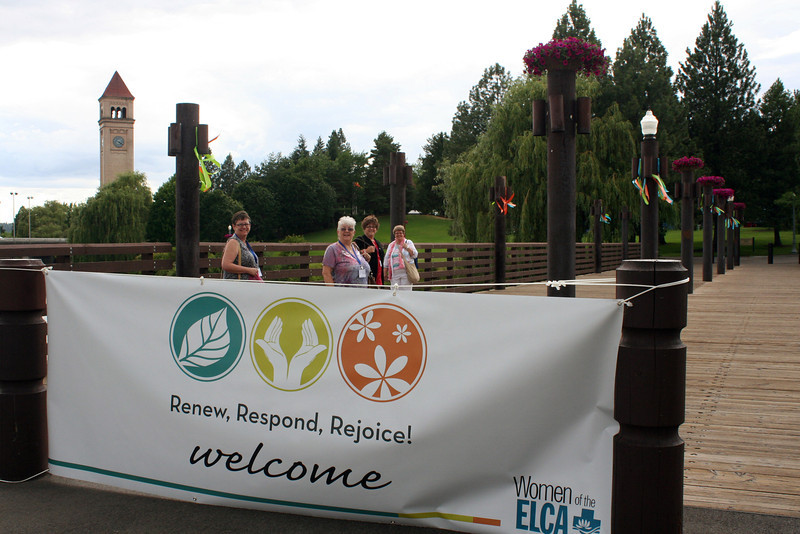 Participants can hardly feel unwelcome at the Eighth Triennial Gathering where they are in Spokane to Renew, Respond, Rejoice! <br /> EMc