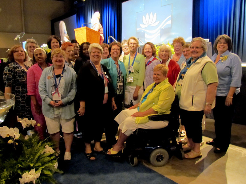Newly elected churchwide executive board for the 2011-2014 Triennium