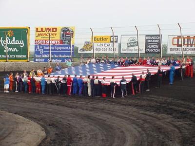 9-11-2004 HUSETS , ROCK  RAPIDS, HARTFORD, JACKSON SPEEDWAY RACERS RSAZ S-M