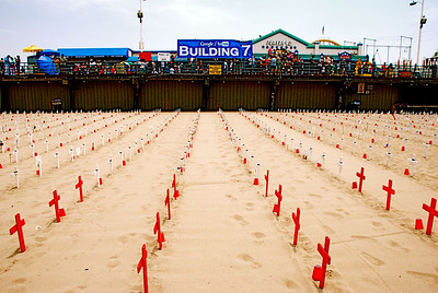 Arlington West at Santa Monica Pier