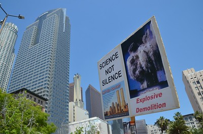 9/11 Truth at the March for Science LA