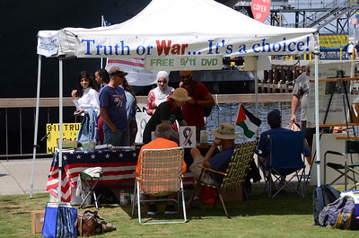 San Diegan's for 9/11 Truth  - Labor Day Outreach