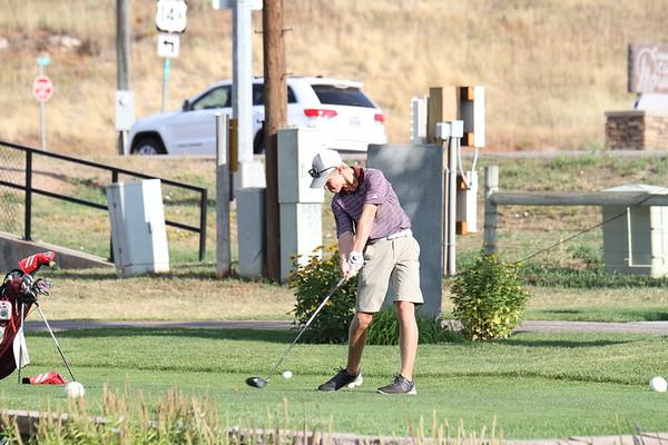 9-12-17  Spearfish boys golf Invite