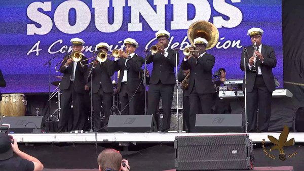 Video - Preservation Hall Jazz Band and liberty 2nd line of New Orleans Louisiana preforming at the  National Museum of African American History & Culture Grand Opening