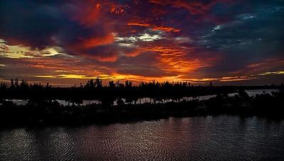 Lagoon Sunset