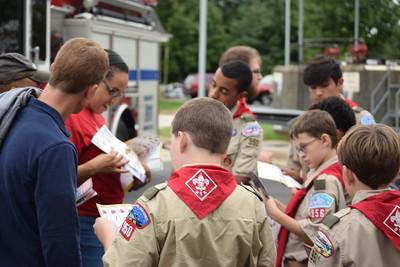 2017 - 9/11 Boy Scout Flag Retirement Ceremony