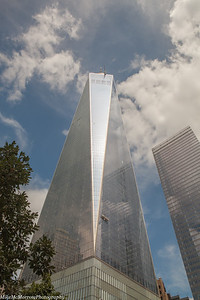 One World Trade Center, from 911 Memorial Museum grounds