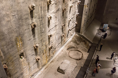 World Trade Center Basement Retaining Wall