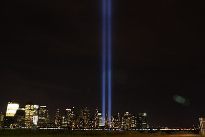 Photos from Sept. 11 2010 Tribute of light & Apparatus