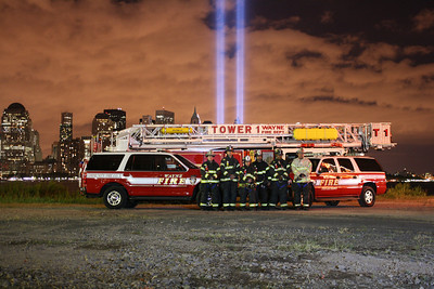 September 11, 2010  Tribute of light  & Apparatus