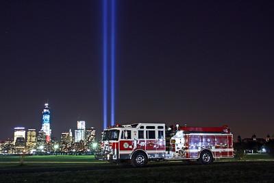 September 11, 2012 Tribute of light & Apparatus