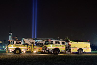 September 11, 2013 Tribute of light & Apparatus